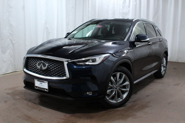 New 2019 Infiniti Qx50 Luxe Awd Crossover In Colorado Springs