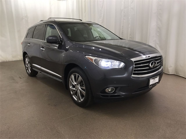 Pre-Owned 2014 INFINITI QX60 AWD w/ Deluxe Tech Pkg and DVDs