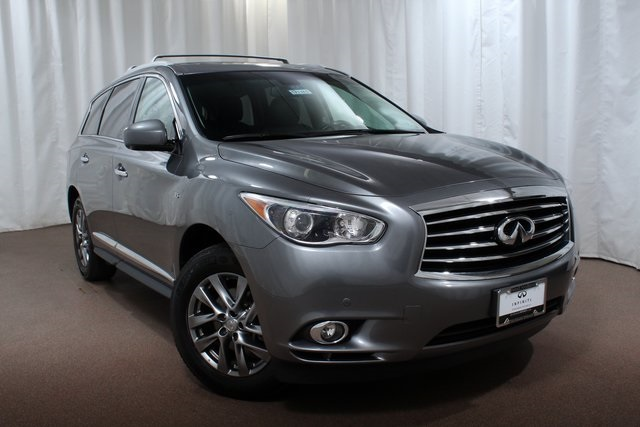 Certified Pre-Owned 2015 INFINITI QX60 AWD with Prem Plus Pkg and NAV