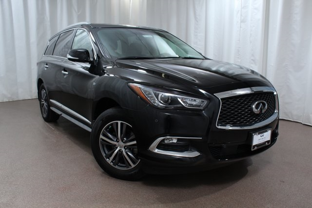 Certified Pre-Owned 2017 INFINITI QX60 AWD w/ Driver Assist and Nav