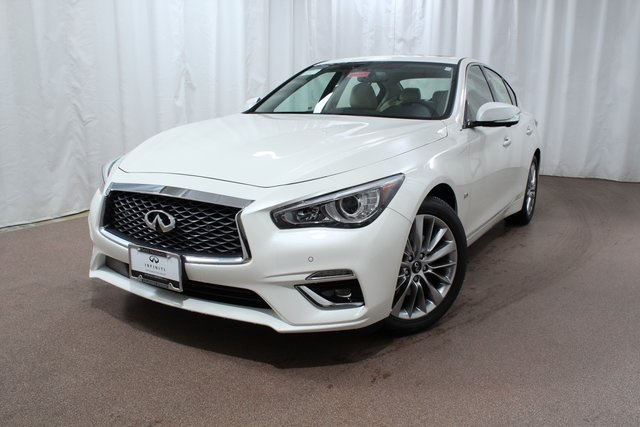 New 2019 Infiniti Q50 3 0t Luxe Awd Sedan In Colorado Springs