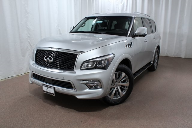 Certified Pre-Owned 2017 INFINITI QX80 4WD w/ Driver Assist Pkg