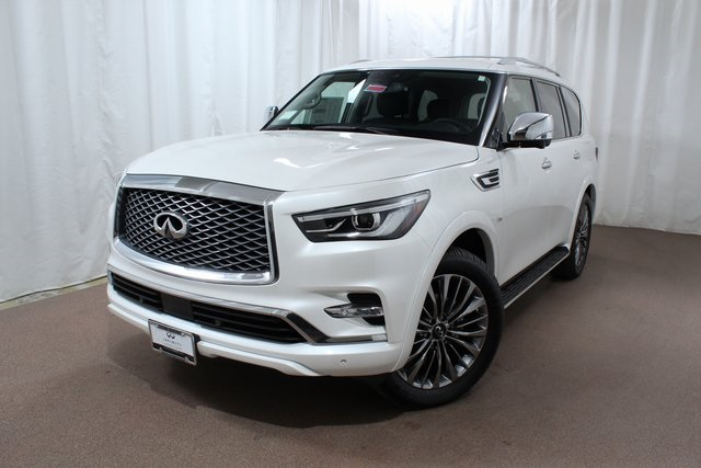 New 2019 Infiniti Qx80 Luxe 4wd Suv In Colorado Springs Qx225754