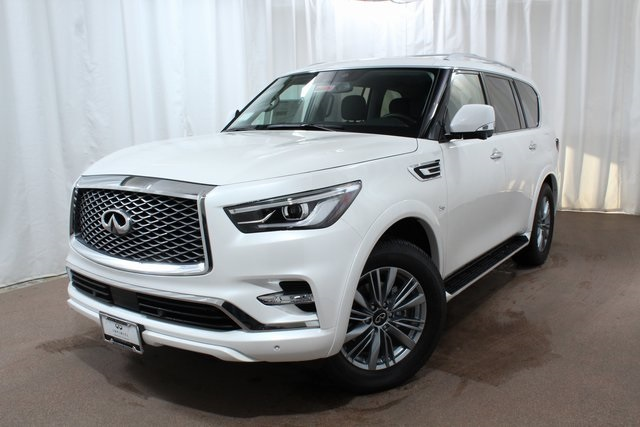 New 2019 Infiniti Qx80 Luxe 4wd Suv In Colorado Springs Qx230942