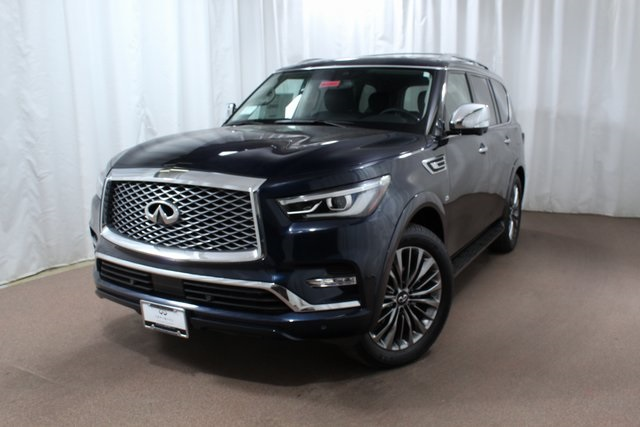 New 2019 Infiniti Qx80 Luxe 4wd Suv In Colorado Springs Qx225880