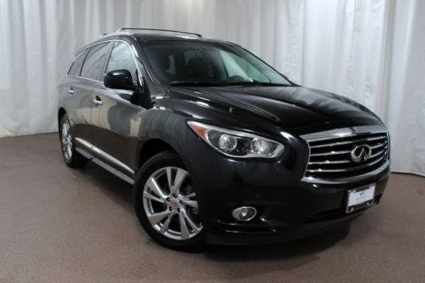 Pre-Owned 2015 INFINITI QX60 AWD w/ Deluxe Tech and DVDs