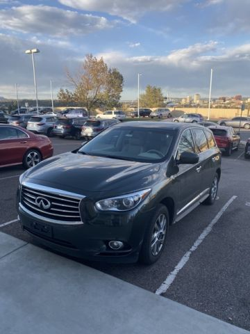 Pre-Owned 2013 INFINITI JX35 AWD w/ Drivers Assist Pkg and DVDs