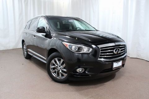 Pre-Owned 2015 INFINITI QX60 AWD w/ Driver Assist and DVDs
