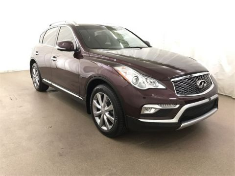 Pre-Owned 2016 INFINITI QX50 AWD w/ Prm Plus and NAV