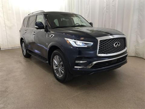 Certified Pre-Owned 2018 INFINITI QX80 4WD w/ Capt Chairs
