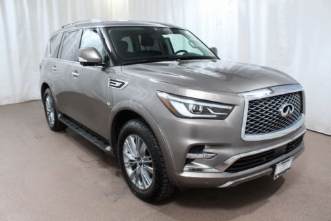 Certified Pre-Owned 2018 INFINITI QX80 4WD w/ Driver Assist