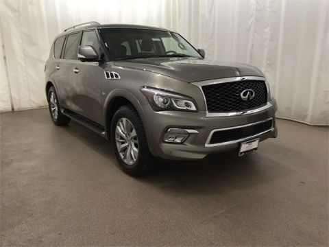 Certified Pre-Owned 2017 INFINITI QX80 4WD w/ NAV and BOSE