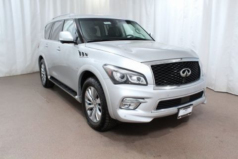 Certified Pre-Owned 2017 INFINITI QX80 4WD w/ Driver Assist